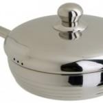 Чистка и узод за сковородой из нержавеющей стали