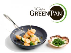 Термолон покрытие на сковородах Green Pan