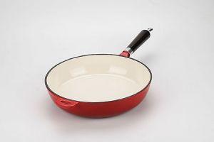 Керамическая чугунная сковорода