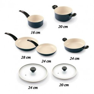 Moneta набор керамических сковород Италия