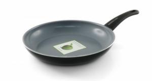 Жить Здорово сковорода фирмы Green Pan