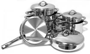 Набор сковород из нержавеющей стали