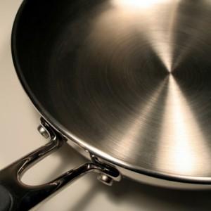 Сковородка из нержавейки