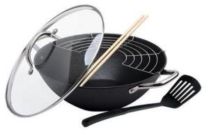 Различные виды сковород wok