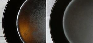 Чугунная сковорода советы по уходу застарой сковородой